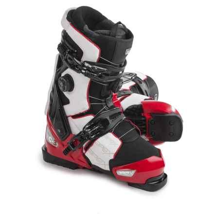 Apex MC3 Ski Boots (For Men) in Red/White/Black - Closeouts