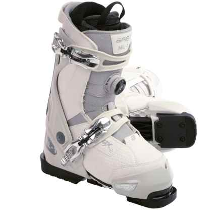 Apex ML-1 Alpine Ski Boots (For Women) in White/Natural - Closeouts