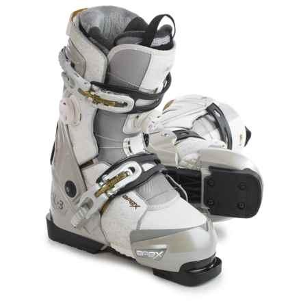 Apex ML3 Ski Boots (For Women) in White/Gold - Closeouts