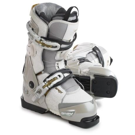 Apex ML3 Ski Boots (For Women) in White/Gold