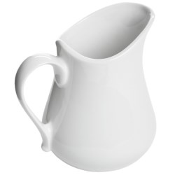 Apilco French Porcelain Pitcher - 21 fl.oz. in White