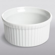 Apilco French Porcelain Souffle Dish - 1 qt. in White - Closeouts