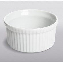 Apilco French Porcelain Souffle Dish - 1.75 qt. in White - Closeouts