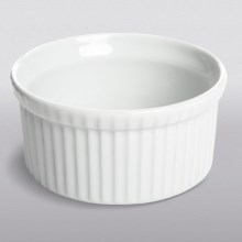 Apilco Souffle Dish - French Porcelain, 12.25 oz. in White - Closeouts