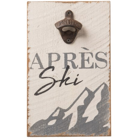 Image of Après Ski Bottle Opener Sign - 12x8?