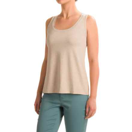 Apropos A La Mode Gia Tank Top (For Women) in Oatmeal - Closeouts
