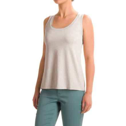 Apropos A La Mode Gia Tank Top (For Women) in Silver - Closeouts