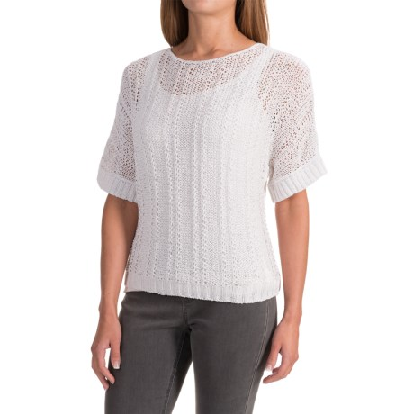 Apropos Brea Savvy Shirt - Short Sleeve (For Women) in White