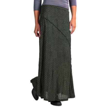 Apropos Checks & Balances Kara Skirt (For Women) in Willow Check - Closeouts