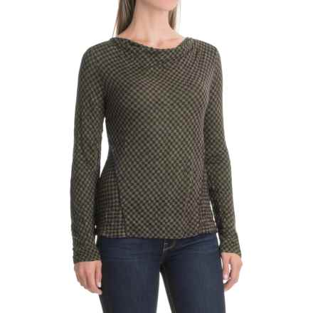 Apropos Checks & Balances Mingle Shirt - Long Sleeve (For Women) in Willow Check - Closeouts