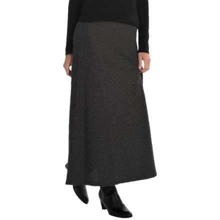 Apropos Echo Pull-On Maxi Skirt (For Women) in Echo Charcoal - Closeouts