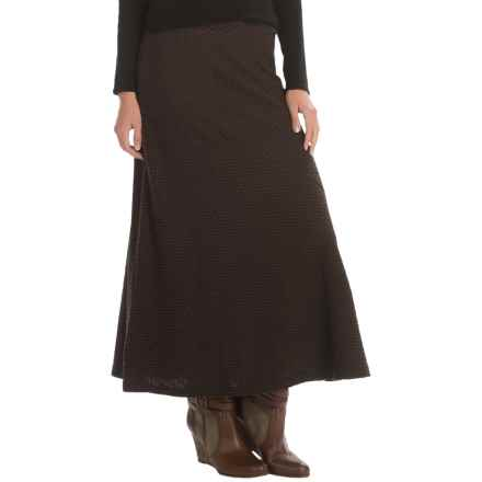 Apropos Echo Pull-On Maxi Skirt (For Women) in Echo Walnut - Closeouts