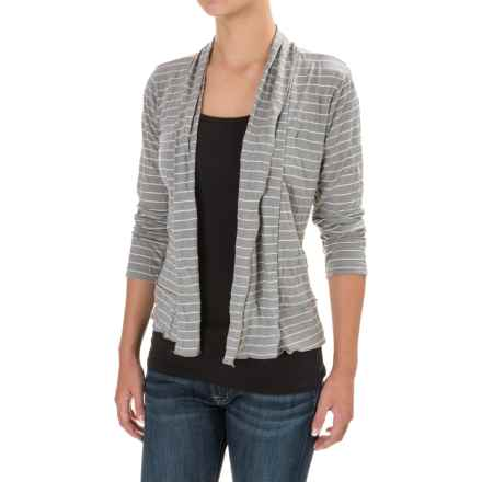 Apropos Edgy Crushed Jacket - Rayon, Long Sleeve (For Women) in Zinc Wide - Closeouts