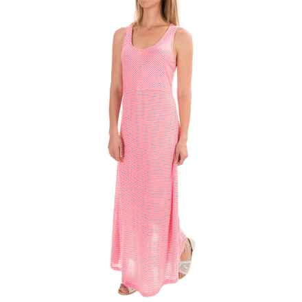 Apropos Having a Crush Maxi Dress - Sleeveless (For Women) in Watermelon Stripe - Closeouts