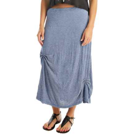 Apropos More Than a Crush Gently Lifted Skirt (For Women) in Lapis Mini - Overstock