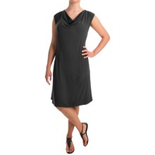 Apropos Orient Express Weekend Dress - Short Sleeve (For Women) in Black - Overstock