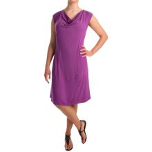 Apropos Orient Express Weekend Dress - Short Sleeve (For Women) in Orchid - Overstock