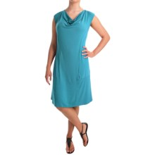 Apropos Orient Express Weekend Dress - Short Sleeve (For Women) in Turquoise - Overstock