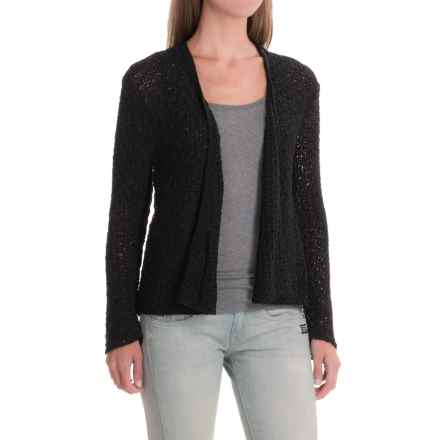Apropos Port of Call Cardigan Sweater (For Women) in Black - Closeouts