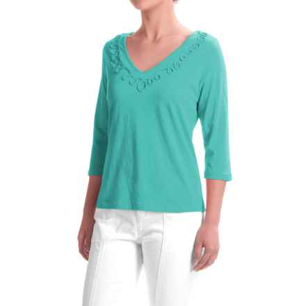 Apropos Portofino Helena Shirt - Elbow Sleeve (For Women) in Capri - Closeouts