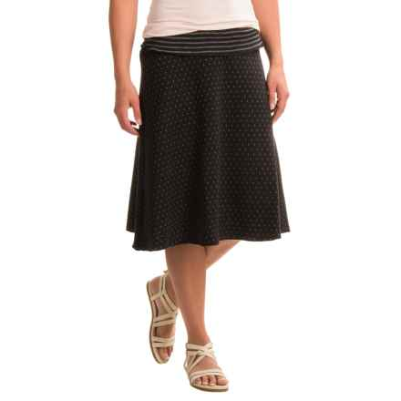 Apropos Roman Holiday Dots and Stripes Skirt (For Women) in Black - Closeouts