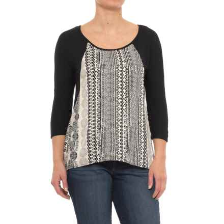 Apropos Sabrina Shirt - Long Sleeve (For Women) in Taj - Closeouts