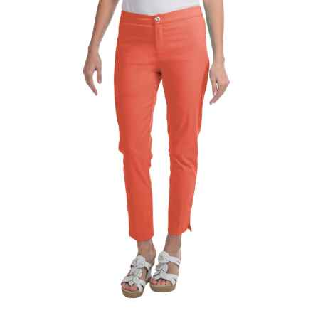 Apropos Savvy Ankle Pants - Twill (For Women) in Washed Coral - Closeouts