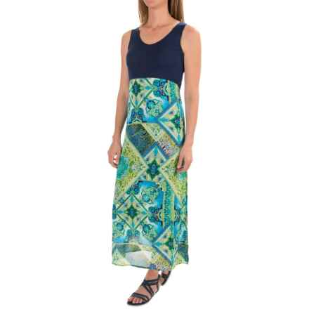 Apropos Serafina Dress - Sleeveless (For Women) in Medallion - Closeouts