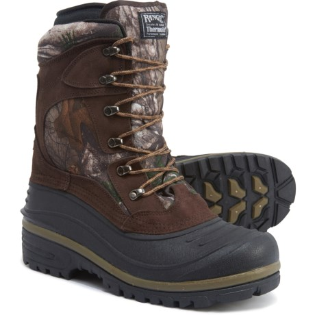 Apun RTX Camo Pac Boot - Waterproof, Insulated (For Men) - REAL TREE (10 ) thumbnail