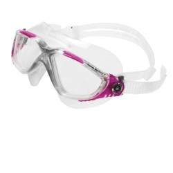 Aqua Sphere Vista Swim Mask (For Women) in Clear/Fuchsia