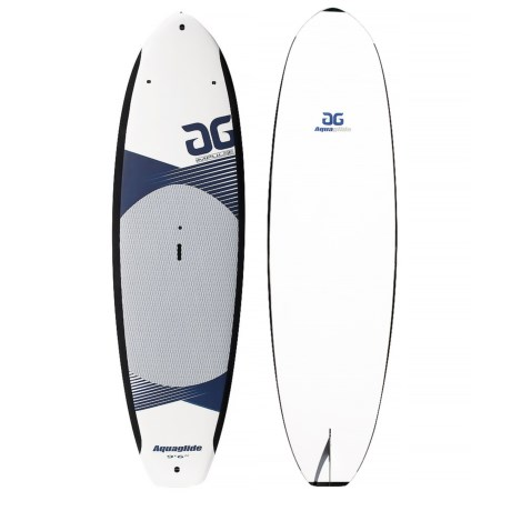 """AquaGlide Impulse Stand-Up Paddle Board - 9'6"""" in White/Blue"""