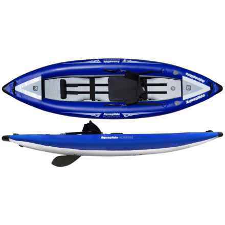 """AquaGlide One HB Inflatable Kayak - 9'4"""", Sit-In in Blue - Overstock"""