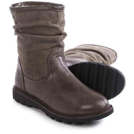 Aquaskin by Henri Pierre Adelise Boots - Waterproof, Wool Lined (For Women) in Grey - Closeouts