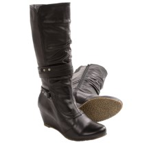 Aquaskin by Henri Pierre Carene Boots - Waterproof (For Women) in Black - Closeouts