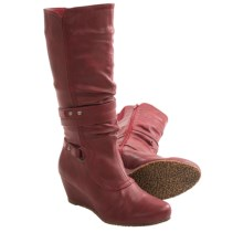 Aquaskin by Henri Pierre Carene Boots - Waterproof (For Women) in Red - Closeouts