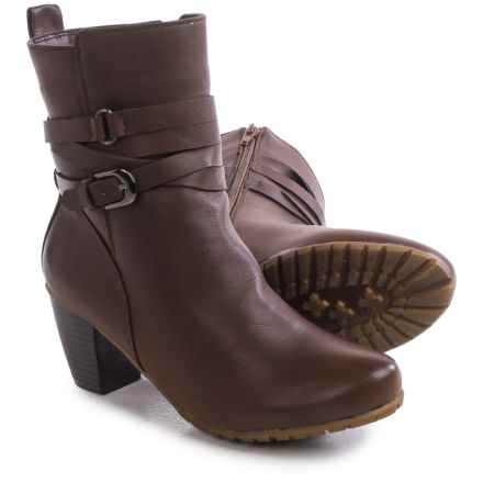 Aquaskin by Henri Pierre Elisa Winter Boots - Waterproof (For Women) in Brown - Closeouts