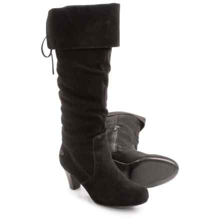 Aquaskin by Henri Pierre Rys Boots - Waterproof, Suede (For Women) in Black - Closeouts