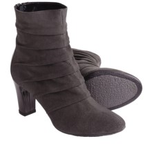 Aquatalia by Marvin K. Taffie 3 Ankle Boots (For Women) in Anthracite Suede - Closeouts