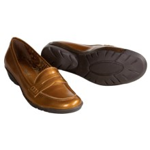 Aquatalia by Marvin K. Whoopie Loafer Shoes - Weatherproof (For Women) in Bark Patent - Closeouts