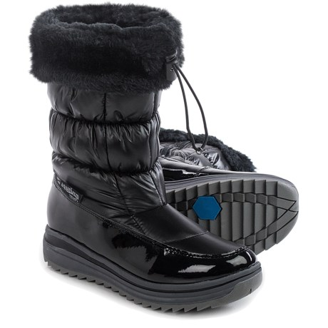 Aquatherm by Santana Canada Aubin Snow Boots - Waterproof, Insulated (For Women) in Black