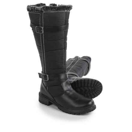 Aquatherm by Santana Canada Blair 3 Snow Boots - Waterproof, Insulated (For Women) in Black - Closeouts