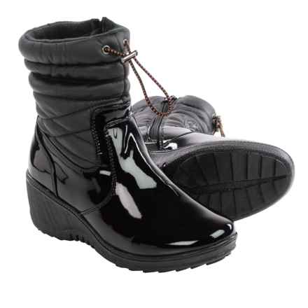 Aquatherm by Santana Canada Blayze Snow Boots - Waterproof (For Women) in Black - Closeouts