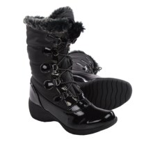 Aquatherm by Santana Canada Candice Snow Boots - Waterproof, Insulated (For Women) in Black - Closeouts