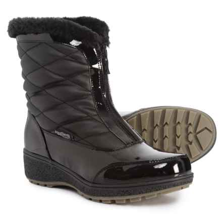 Aquatherm by Santana Canada Crispin2 Snow Boots - Waterproof, Insulated (For Women) in Black - Closeouts