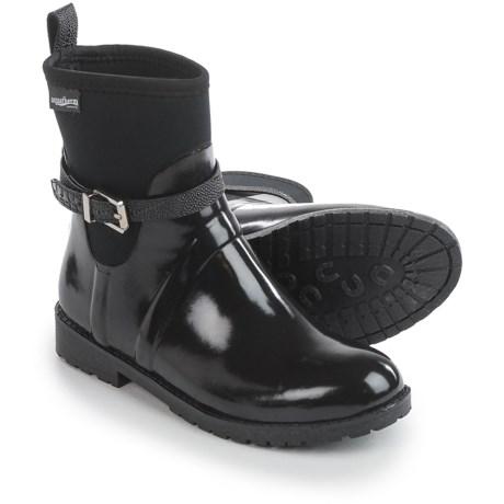 Aquatherm by Santana Canada Crystal Rain Boots - Waterproof (For Women) in Black
