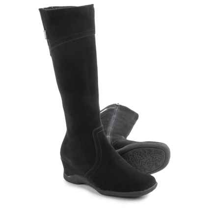 Aquatherm by Santana Canada Fonda Snow Boots - Suede (For Women) in Black - Closeouts