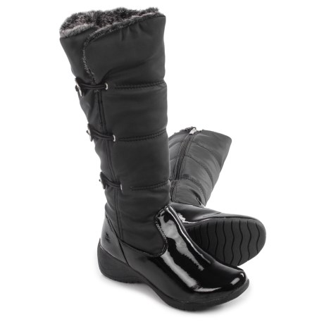 Aquatherm by Santana Canada Frosty 2 Snow Boots - Waterproof, Insulated (For Women) in Black