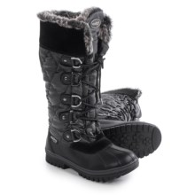 Aquatherm by Santana Canada Icicle Snow Boots - Waterproof, Insulated (For Women) in Black - Closeouts