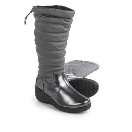 Aquatherm by Santana Canada Ignite Snow Boots - Waterproof, Insulated (For Women) in Pewter - Closeouts