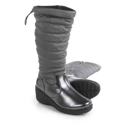 Aquatherm by Santana Canada Ignite Snow Boots - Waterproof, Insulated (For Women) in Pewter
